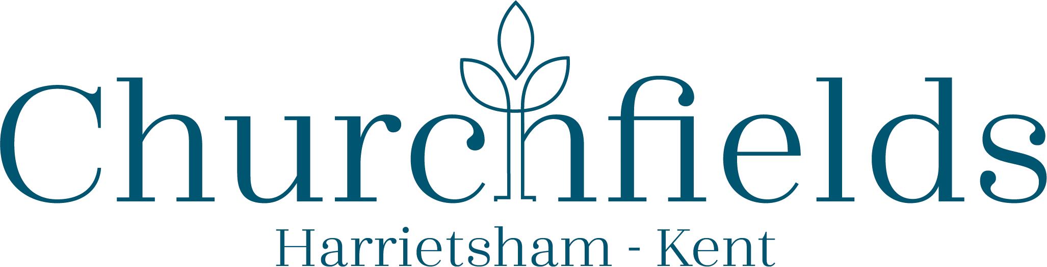 Churchfields logo.