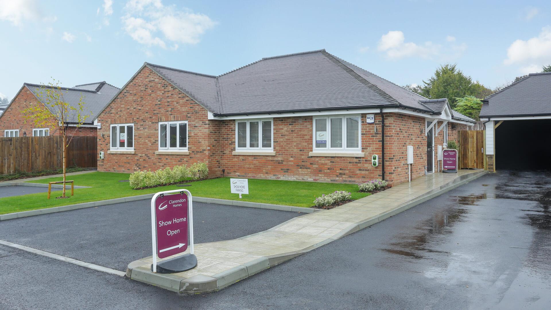 New build Churchfields bungalow plot 2