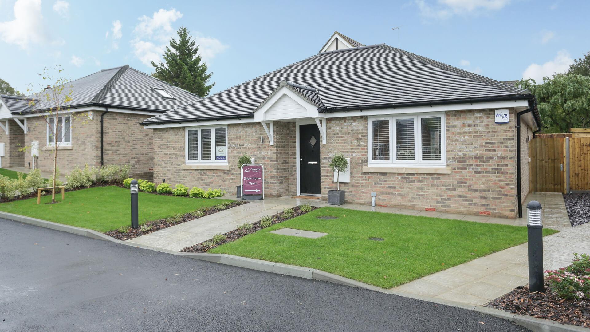 New build Churchfields bungalow plot 4