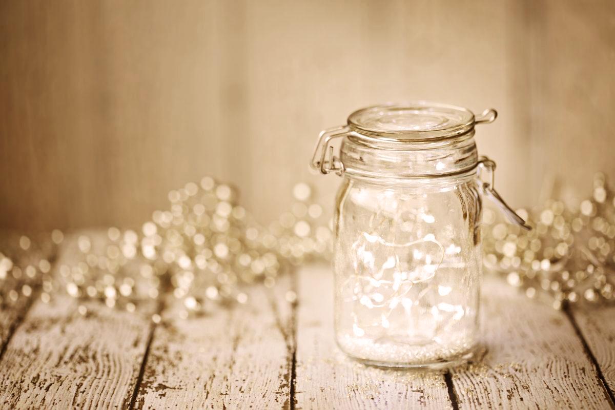 lights in jar image