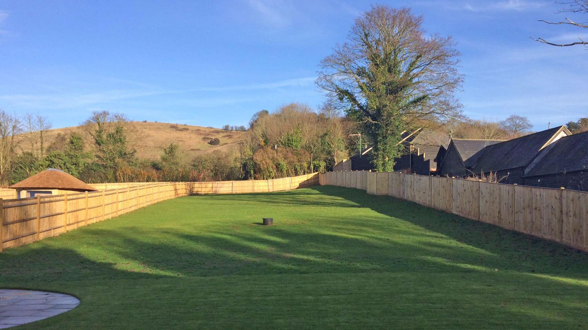 Burwood House, Pilgrims Place garden