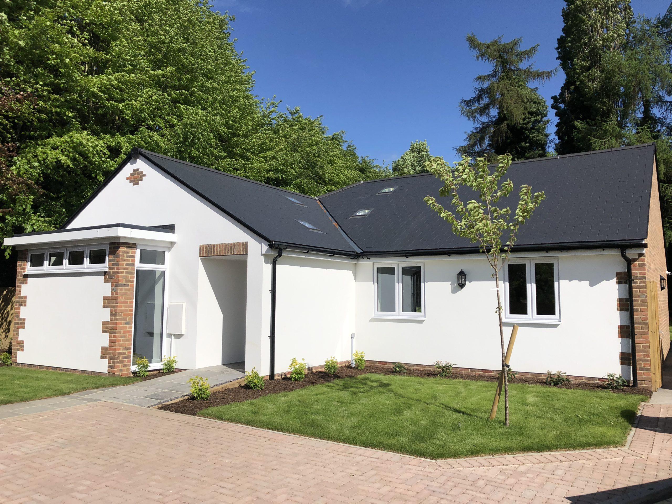 A new build bungalow at our Fairways development