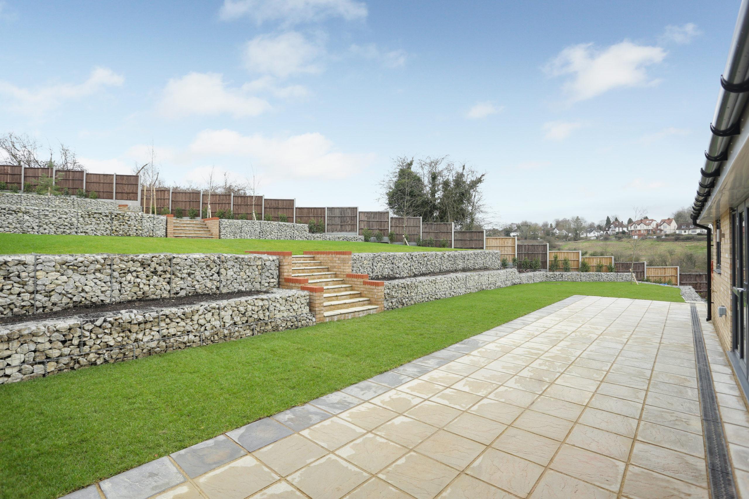 Garden at our Woodside Court development