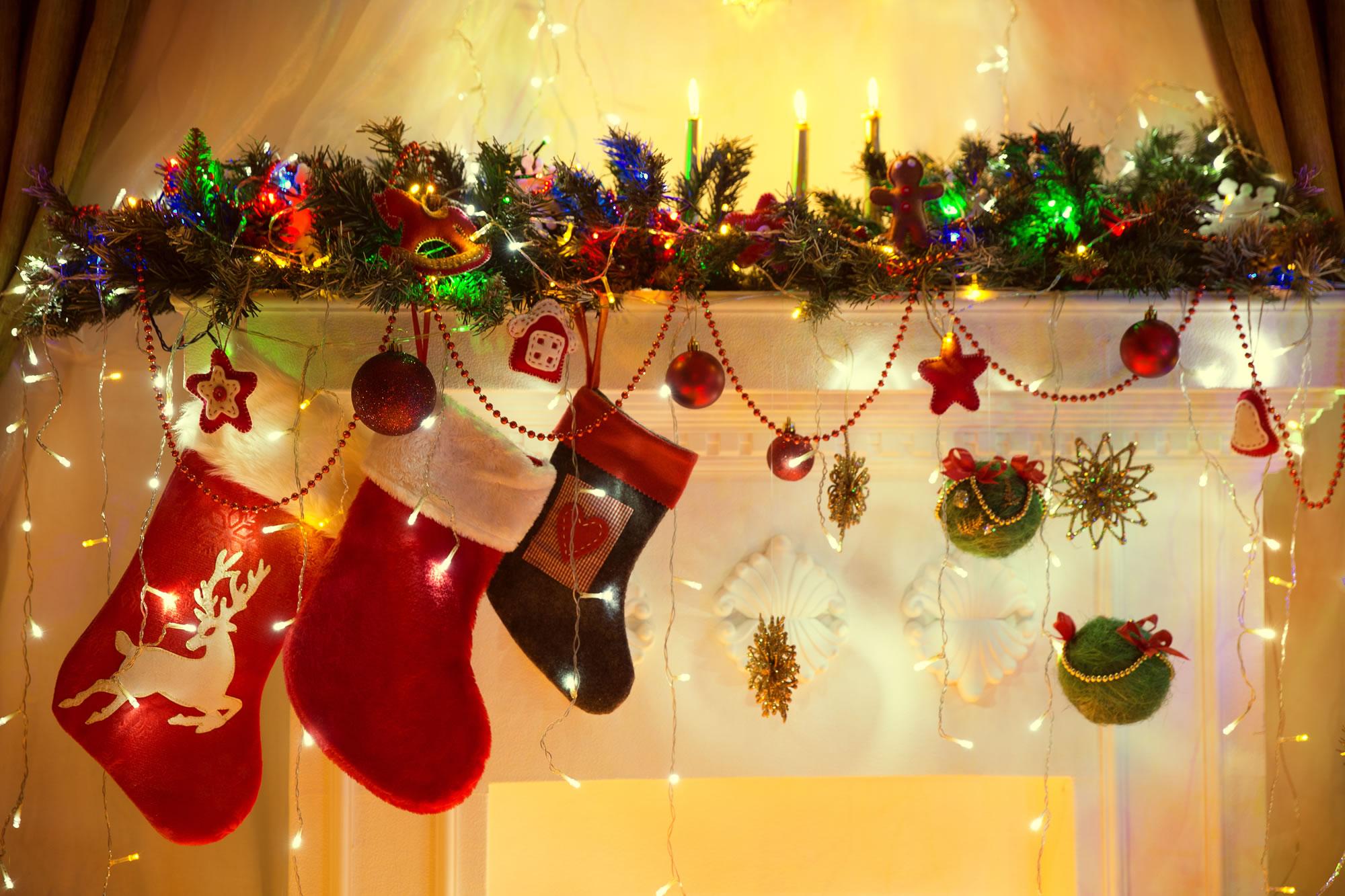 stocking stock image