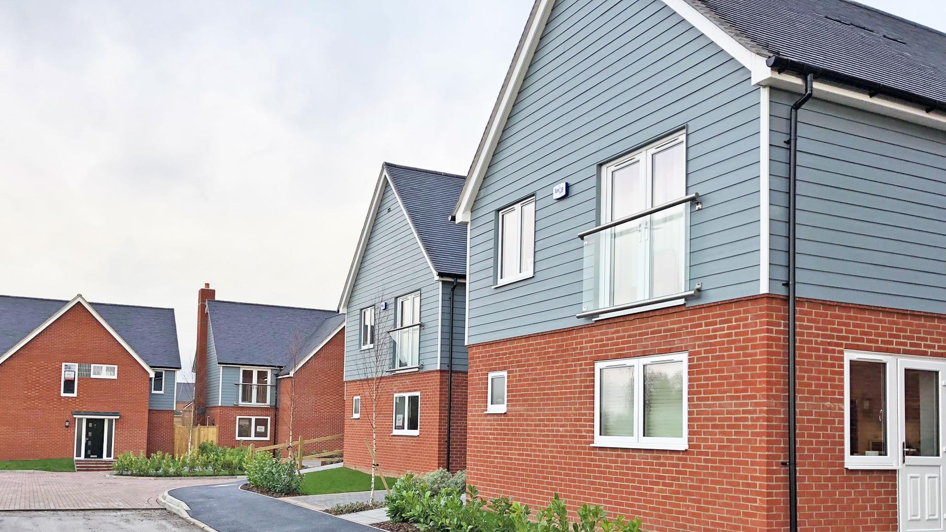 New Build houses at our Castor Park development