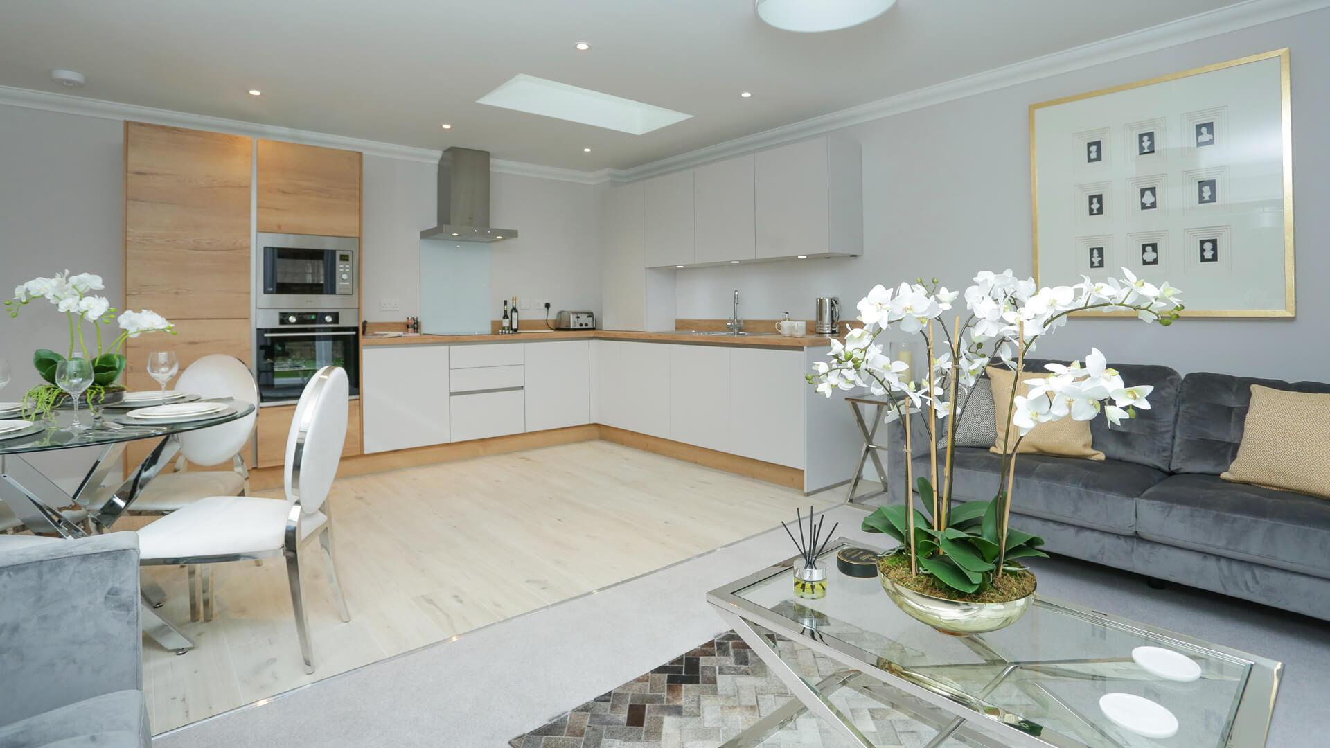 Living area Plot 4 Churchfields.