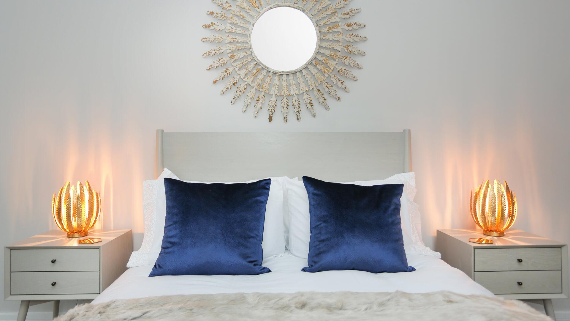 Master bedroom at Plot 4 Churchfields