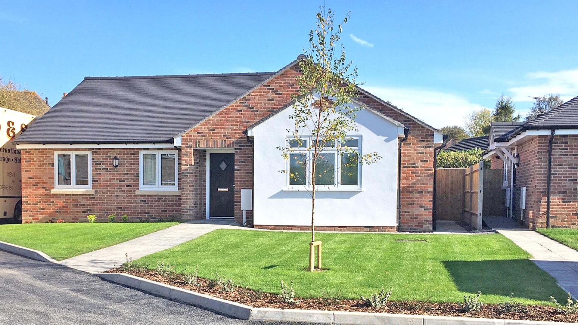 A new build bungalow at our Churchfields development.