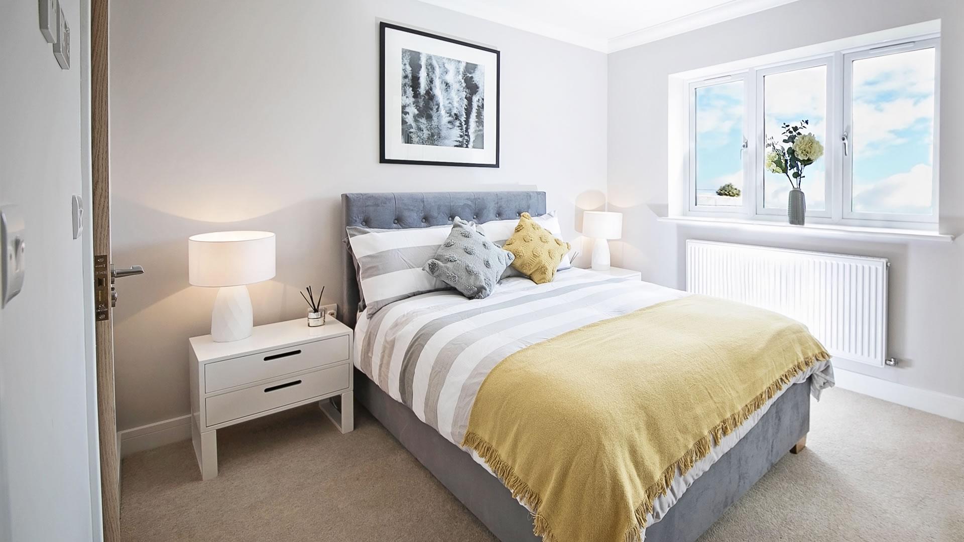 Master Bedroom at Churchfields