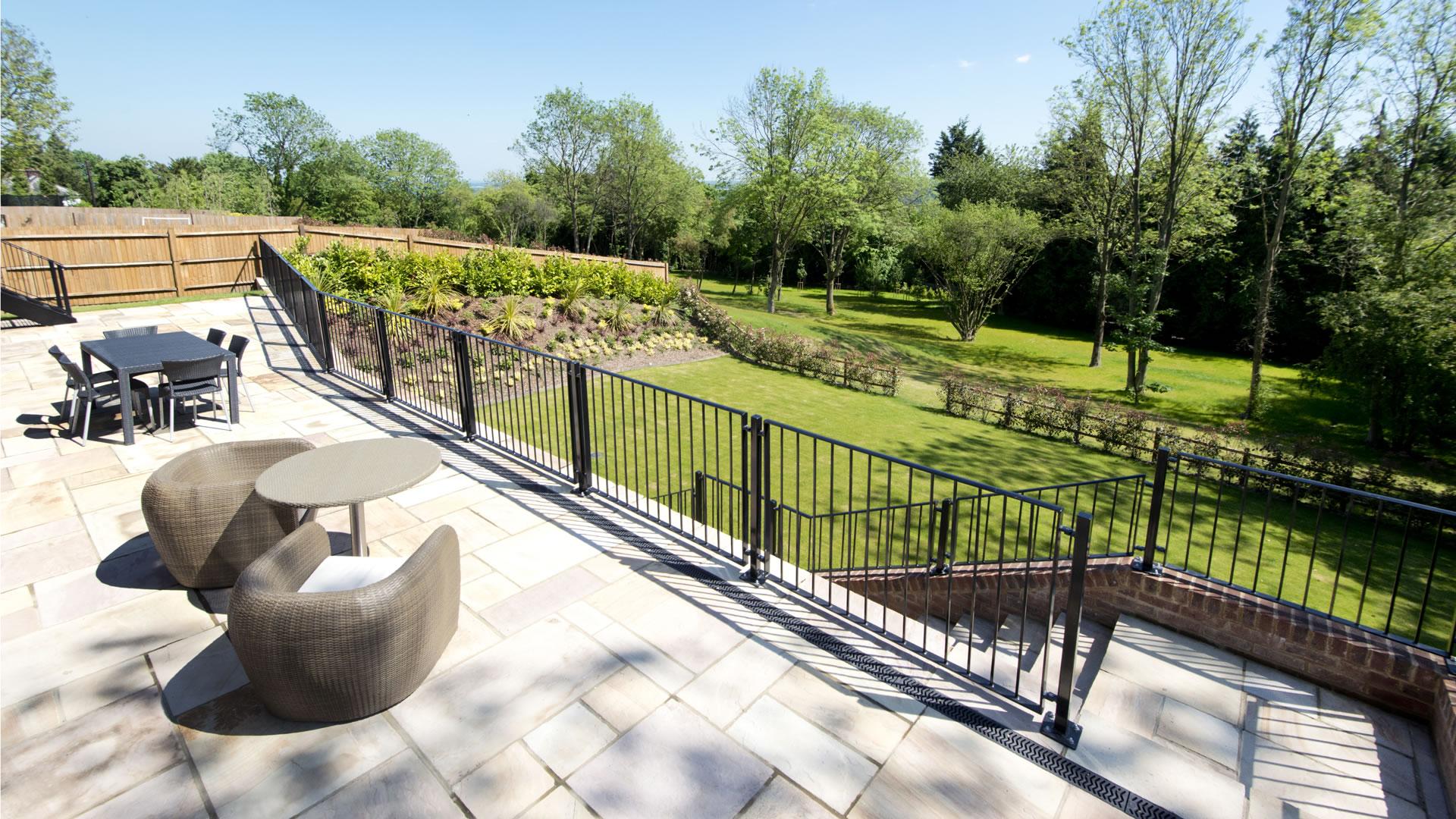 Gables Park plot 1 balcony