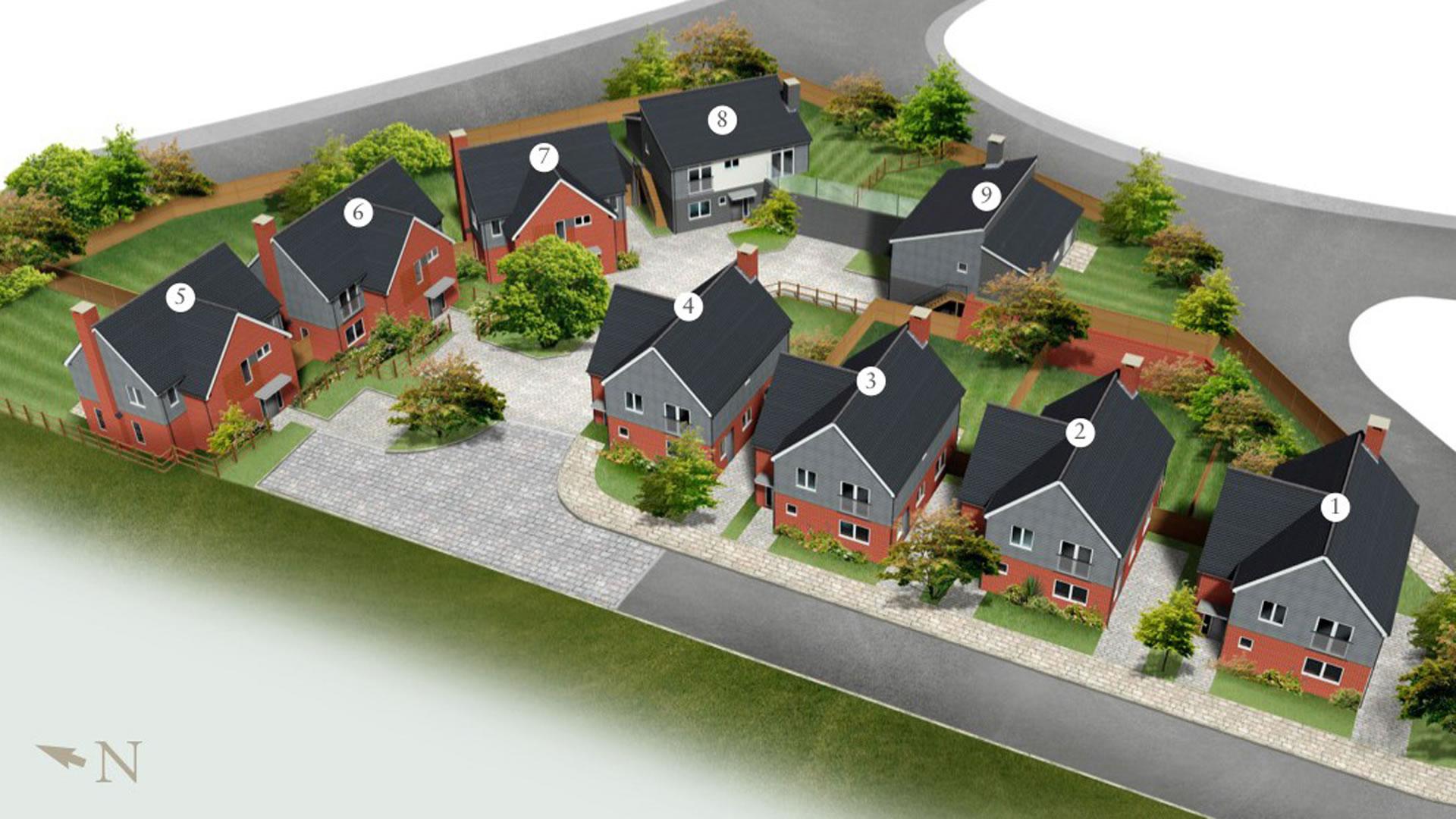 Castor Park development illustration
