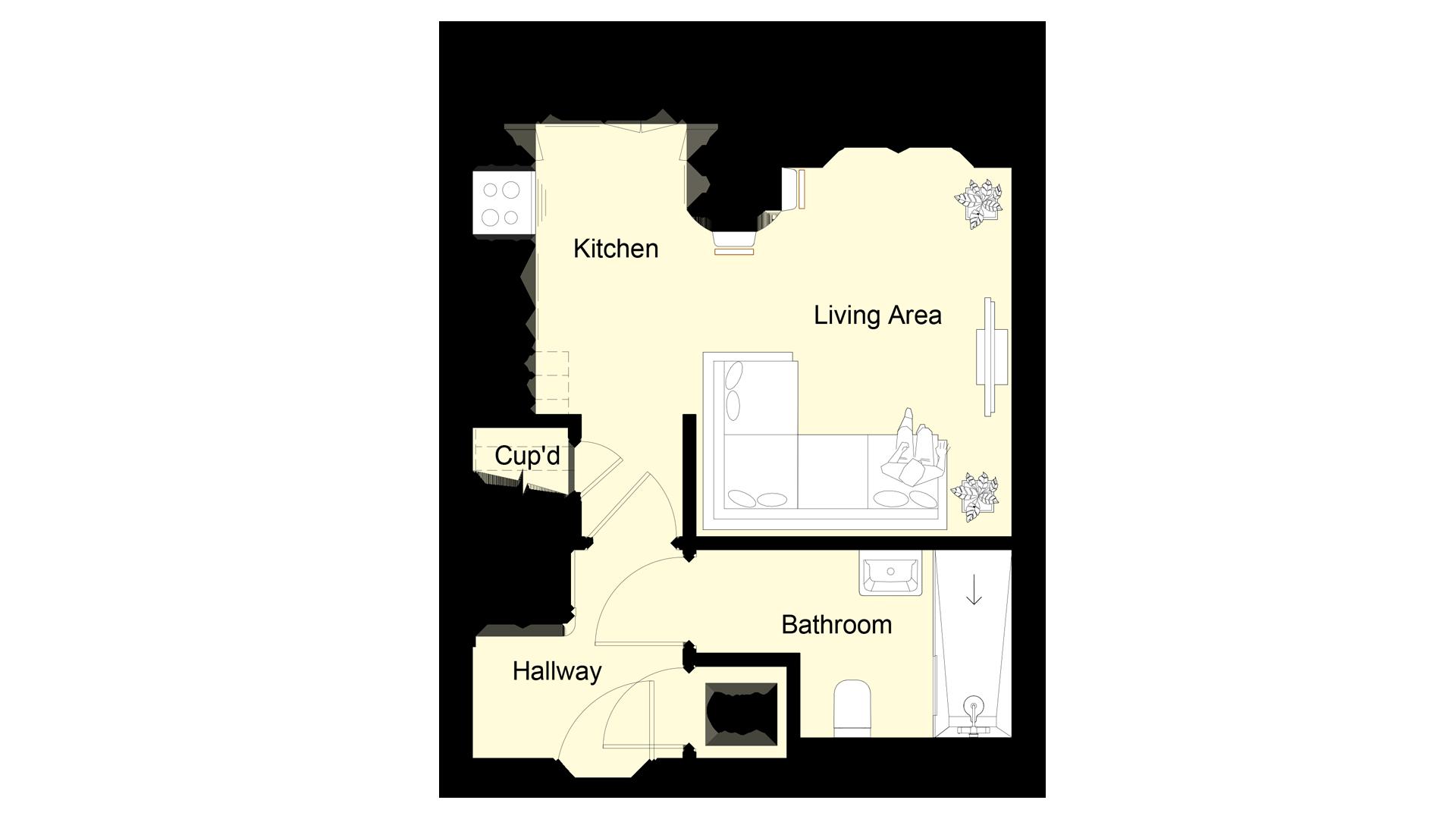 The Hive plot 2 ground floor sales plan
