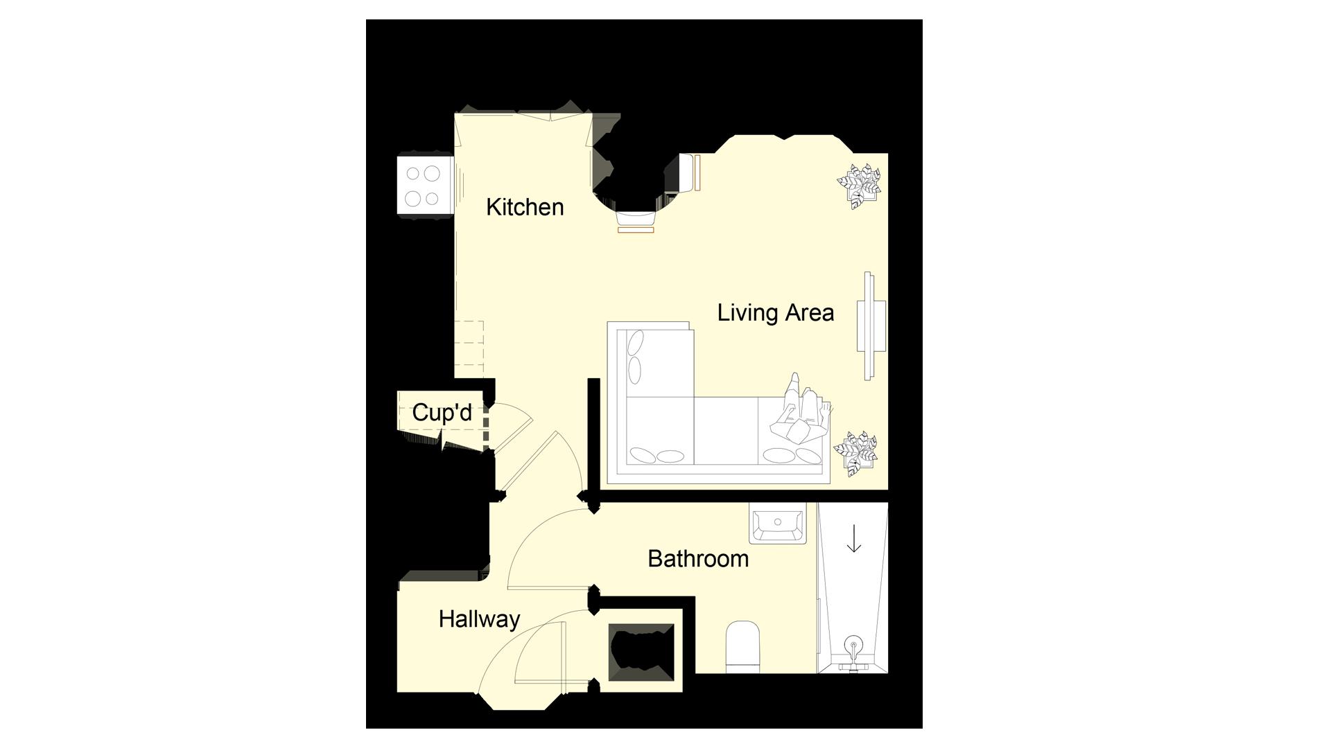 The Hive plot 5 ground floor sales plan
