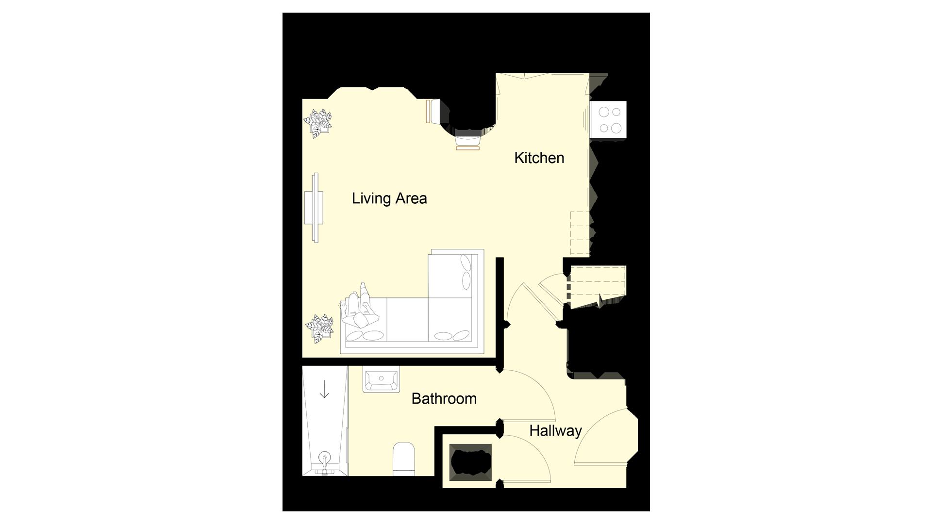 The Hive plot 7 ground floor sales plan