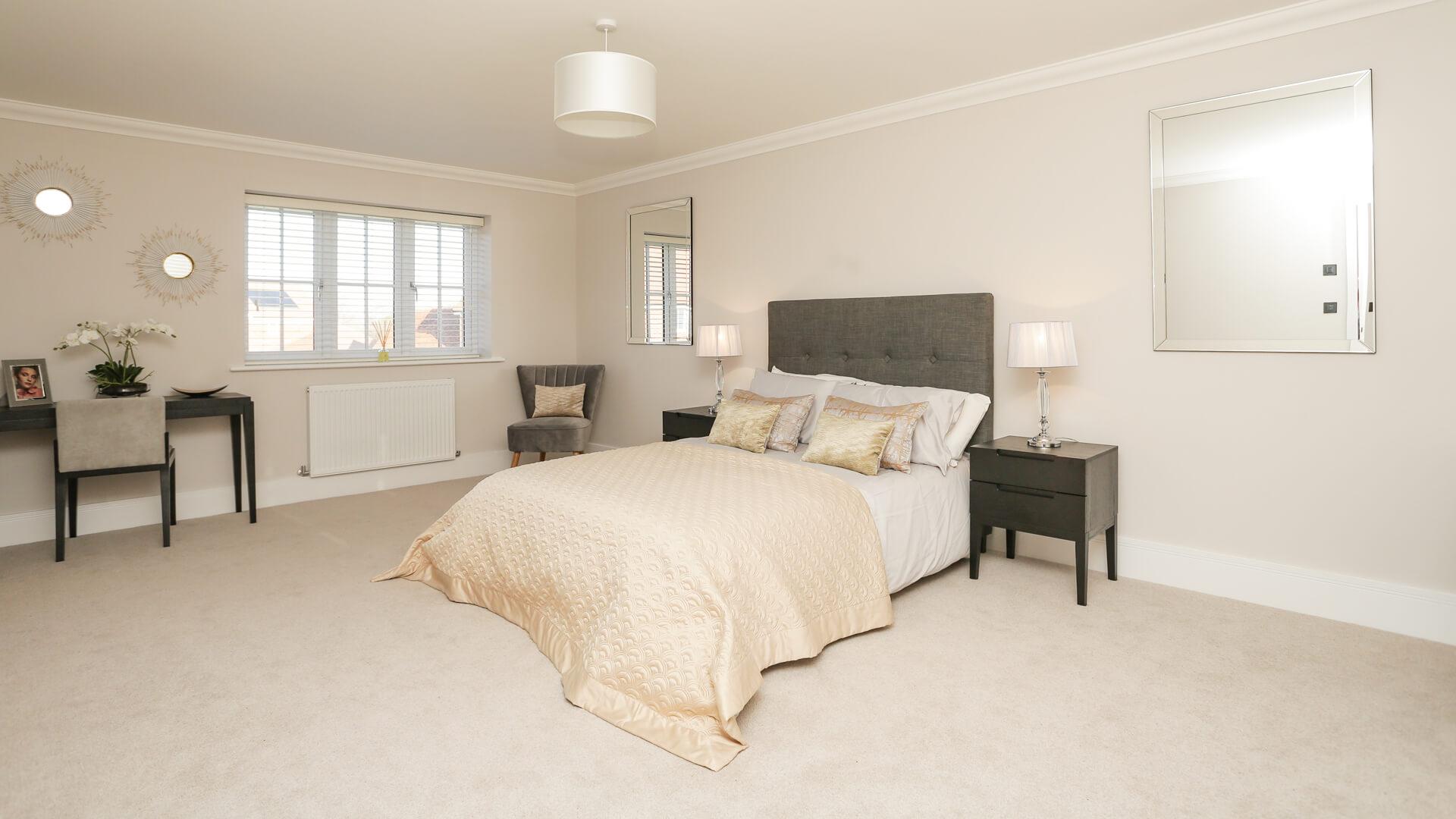Bedroom 2 at Weavers park Plot 11.