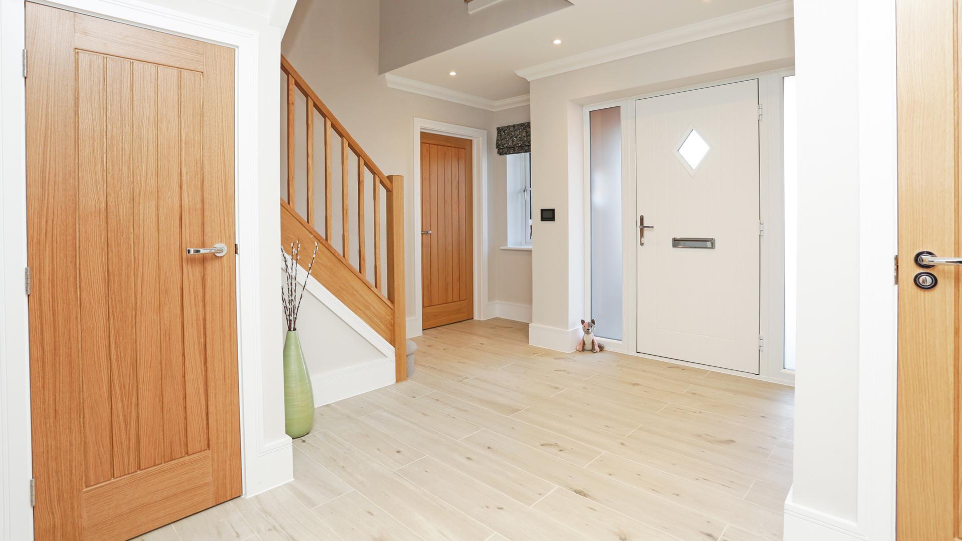 Hallway at Weavers Park