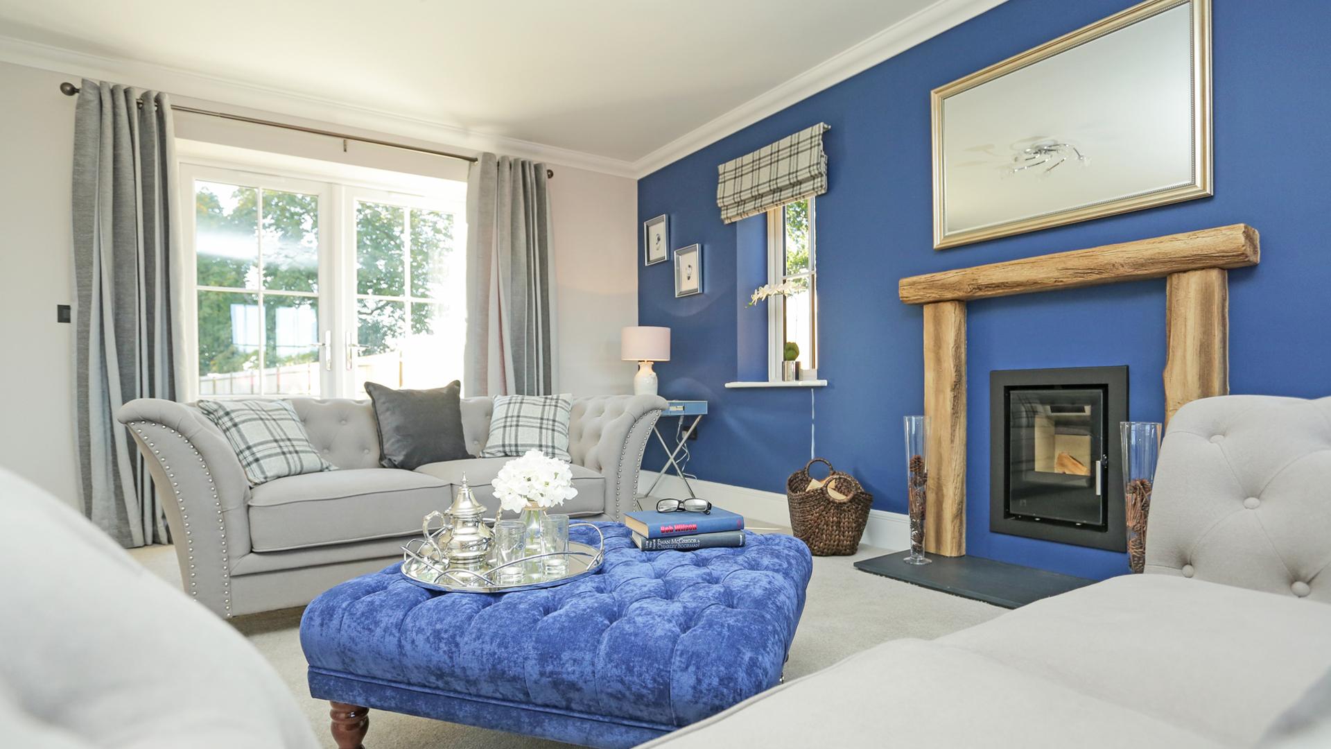 Living room at Weavers Park