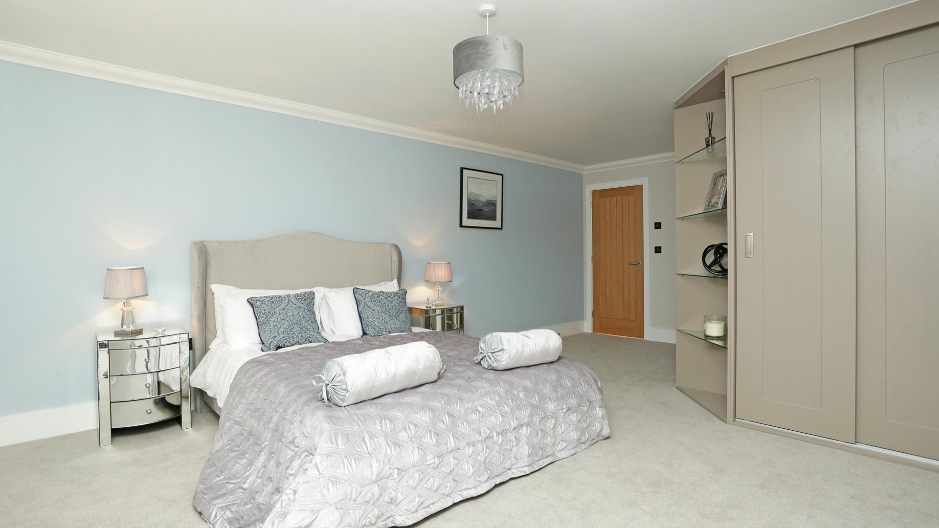 Master bedroom at Weavers Park