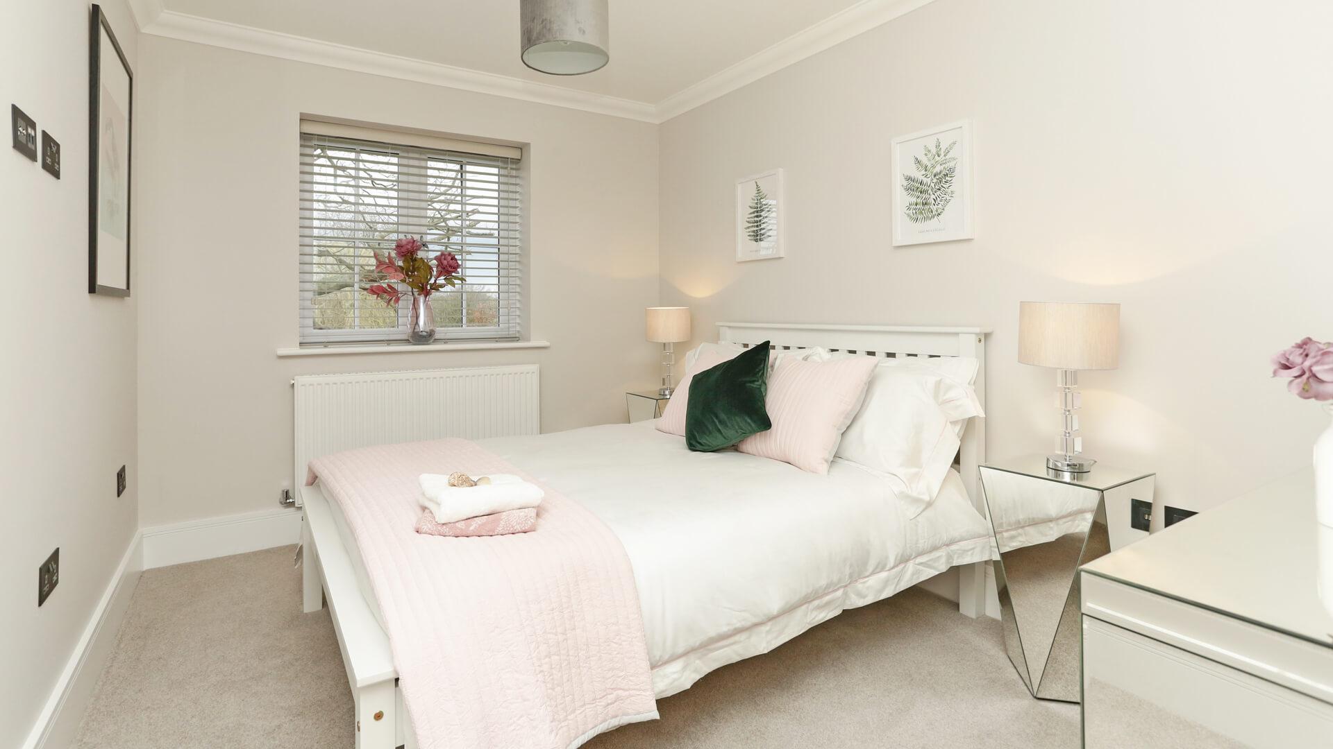 Bedroom 4 at Plot 8 Weavers park.
