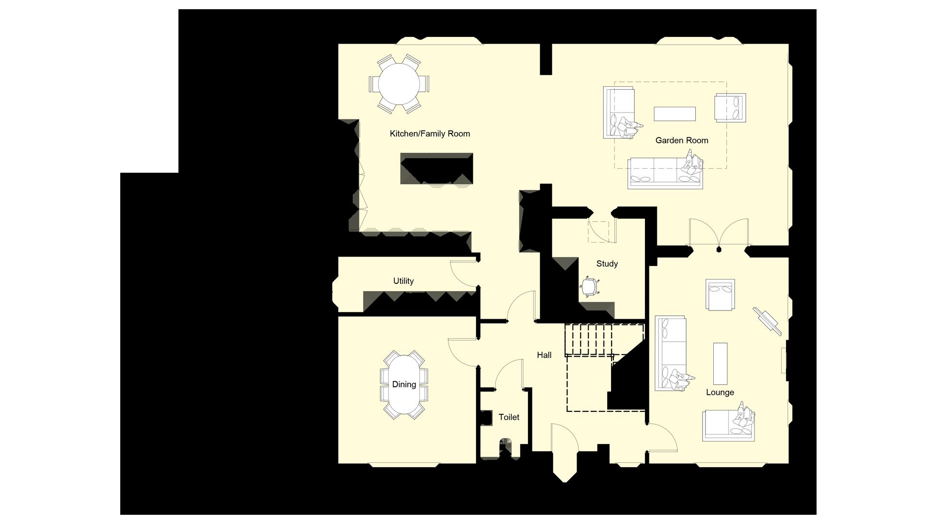 weavers park plot 9 ground floor sales plan