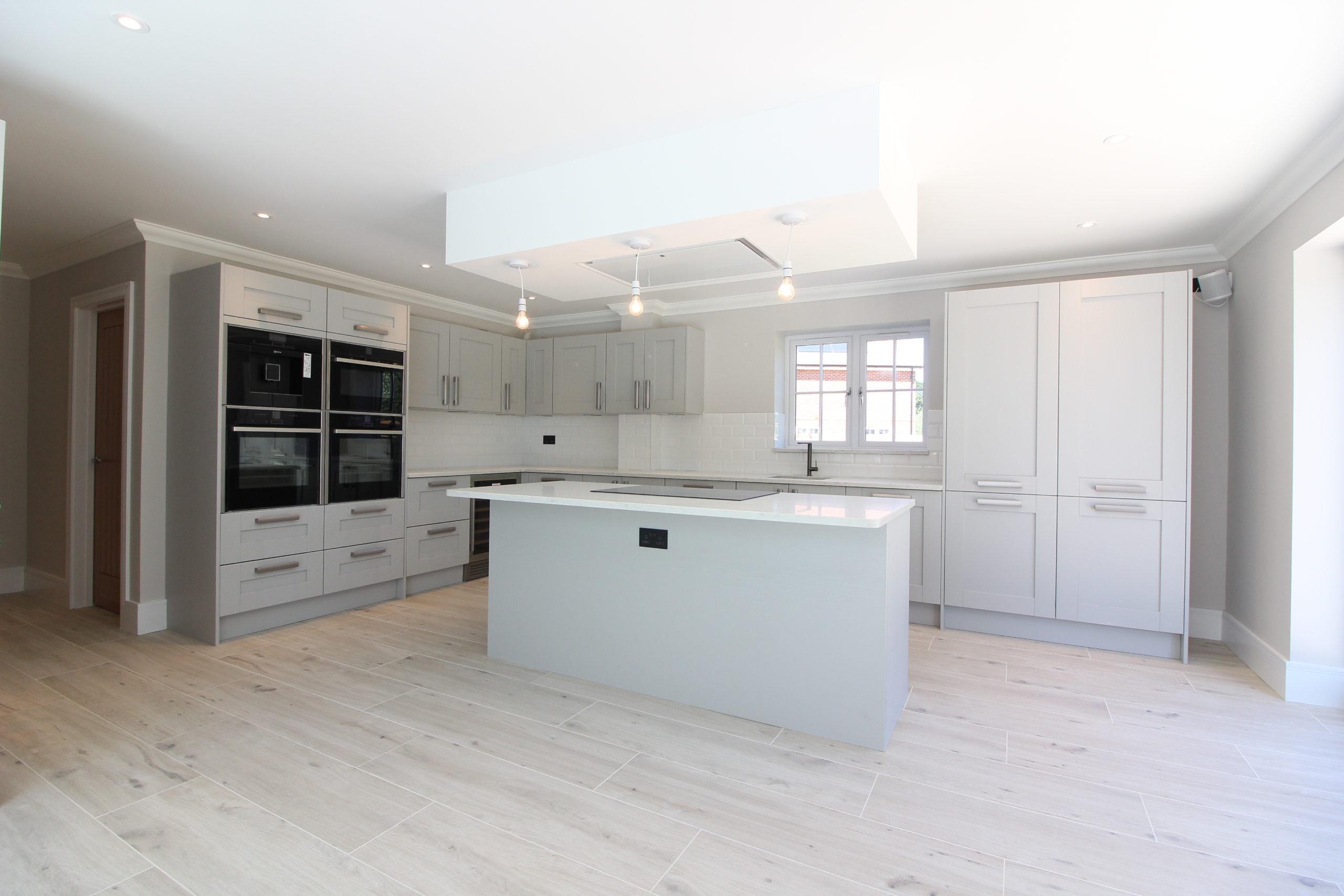 Grey designer Clarendon Home kitchen