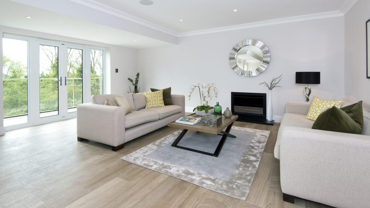 Gables Park living room