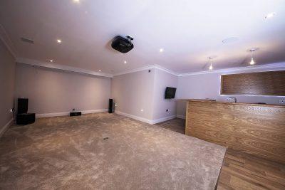 large empty room interior image