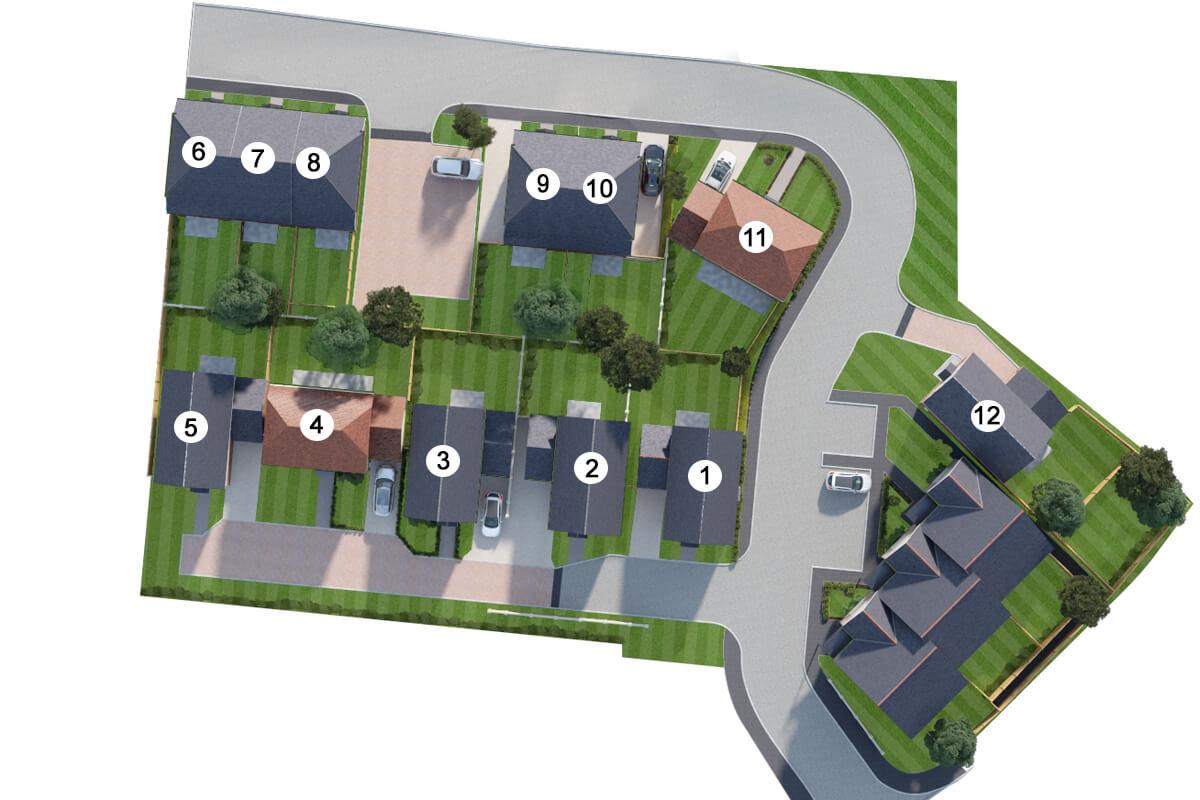 Ivy Court site plan