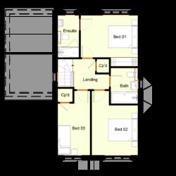 Ivy Court - Plot 1: First Floor