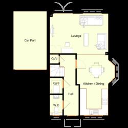 Ivy Court - Plot 1: Ground Floor