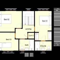 Ivy Court - Plot 11: First Floor