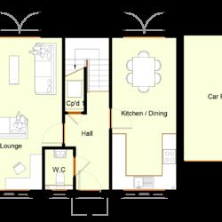 Ivy Court - Plot 11: Ground Floor