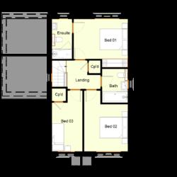 Ivy Court - Plot 12: First Floor