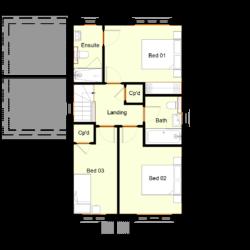 Ivy Court - Plot 2: First Floor
