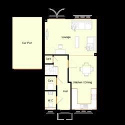 Ivy Court - Plot 2: Ground Floor