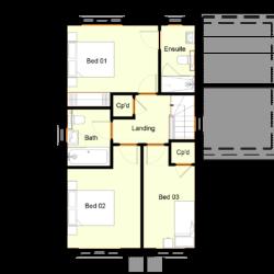 Ivy Court - Plot 3: First Floor