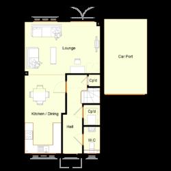 Ivy Court - Plot 3: Ground Floor