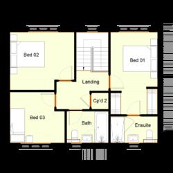 Ivy Court - Plot 4: First Floor