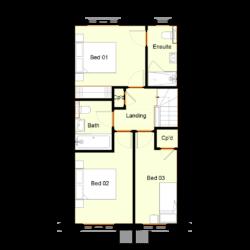 Ivy Court - Plot 7: First Floor
