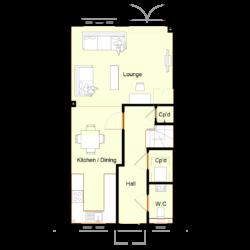Ivy Court - Plot 7: Ground Floor