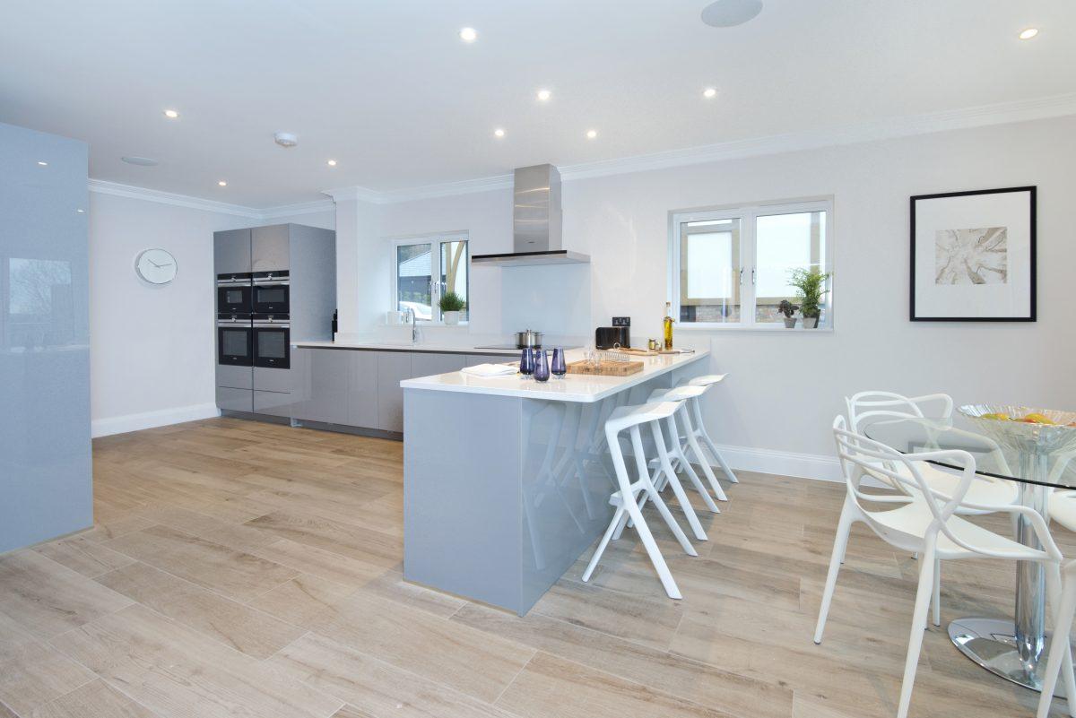 Gables Park show home kitchen