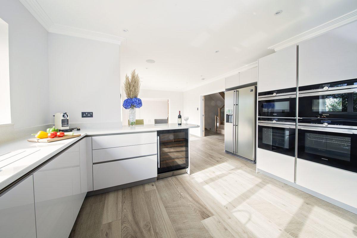 open plan kitchen image