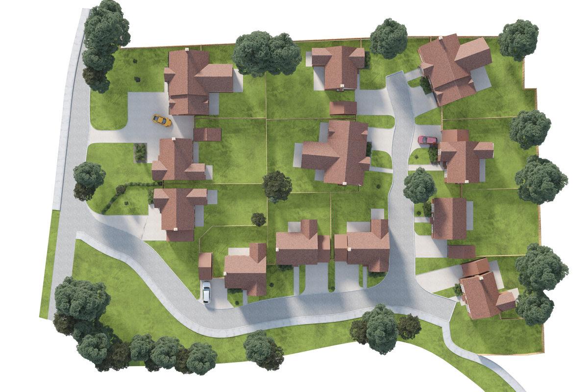 Langton Gardens site plan