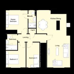 Woodside Court - Plot 5: First Floor