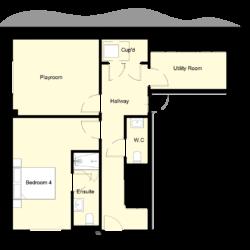 Woodside Court - Plot 5: Ground Floor